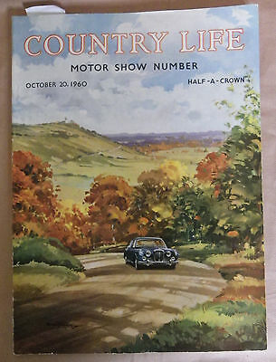 COUNTRY LIFE MOTOR SHOW NUMBER October 20th 1960 Vol CXXVIII No. 3320