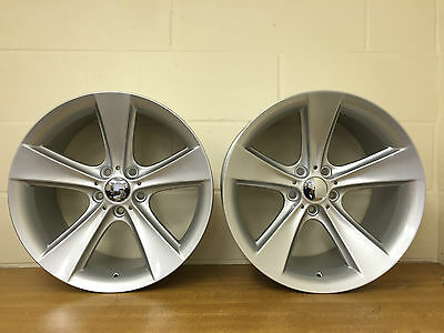 """19"""" New Staggered Wheels In Silver Fits Bmw 5,6,7,8 Series Plus Insignia"""