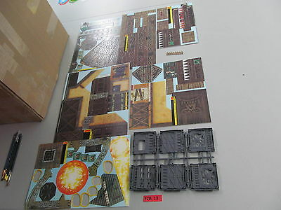 Warhammer 40k oop Gorkamorka Ork Card Stock Scenery and Terrain from Boxed Set