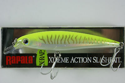 Rapala Saltwater X-Rap // SXR10HCHU // Hot Chartreuse UV 10cm 13g Fishing Lure