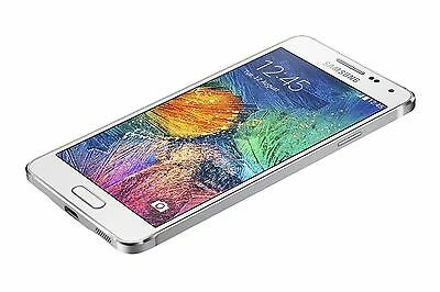 Fake Display Model White Samsung Galaxy Alpha Dummy Non-Working Mobile Phone