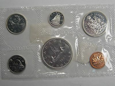 1965 Proof/Proof-Like 6 coin Canadian Silver Set. CANADA.  #17