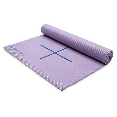 Tapis D Exercice Yoga Capital Sports Fitness Gym Pilates Violet Sac Bandouliere