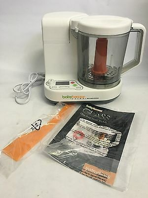 BK6L99 Baby Brezza Food Maker Glass Large 4 Cup Capacity, White