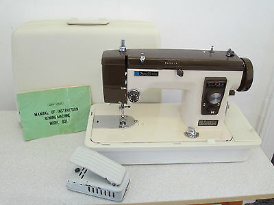 Janome New Home Electric Sewing Machine Heavy Duty Leather Sail Canvas Model 921