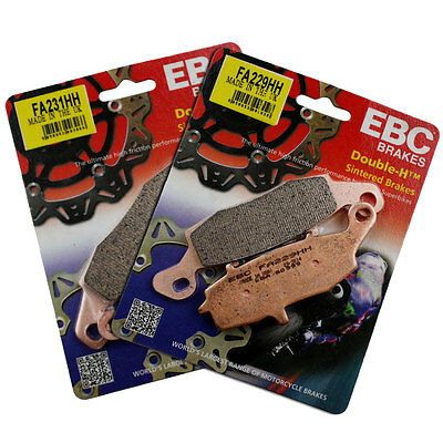 EBC FA229HH & FA231HH Front Brake Pad Set Suzuki GSR 750 One Edition 2013