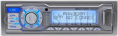 Clarion M505 Marine Single-din In-dash Usb/mp3/wma Receiver With Bluetooth[r],