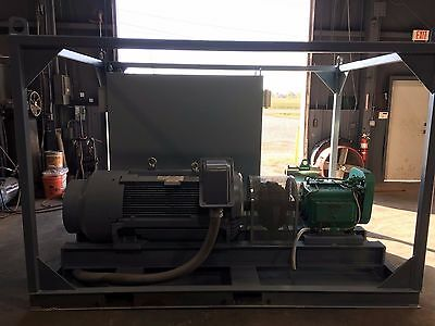 TECO-Westinghouse 200 HP Electric Motor with Toshiba Variable Frequency Drive