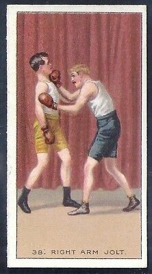 Carreras-The Science Of Boxing Series (Black Cat Back)-#38- Quality Card!!!