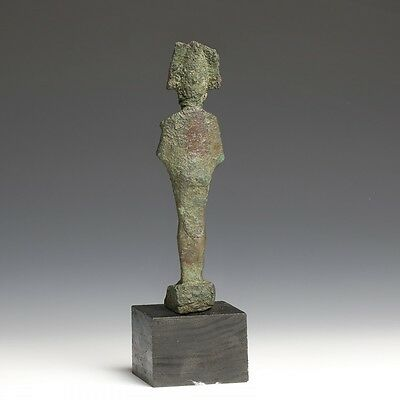 Large Egyptian Bronze Osiris