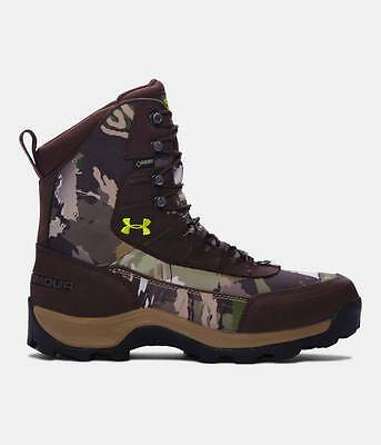 Under Armour BROW TINE 1200g Insulated Men's Mossy Oak Treestand Camo Hunt Boots