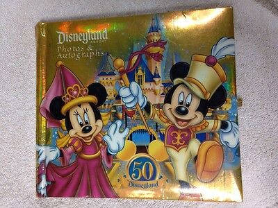 Disneyland Disney Parks Resort Photos & Autograph Book Souvenir, Mickey & Minnie