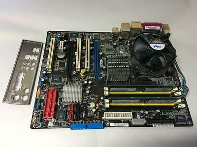 Asus P5Wd2 Motherboard W/ Cpu P4 3.6Ghz + 2Gb Ram & I/o Plate