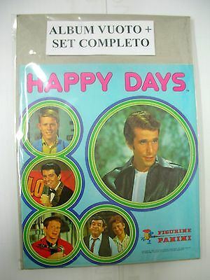 Album Figurine Panini  Happy Days  Vuoto + Set Completo Figurine