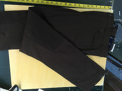 """Equetech mens Riding Trousers Brown 34"""" Waist"""