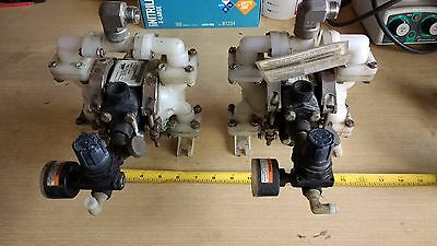 Sandpiper PB 1/4, TS3K Air Operated Double Diaphragm Pump, Used, Tested