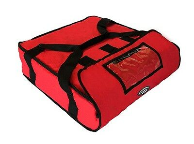 "Pizza Delivery Hot Bag (Holds up to Two 16"" or Two 18"" Pizzas) Red"