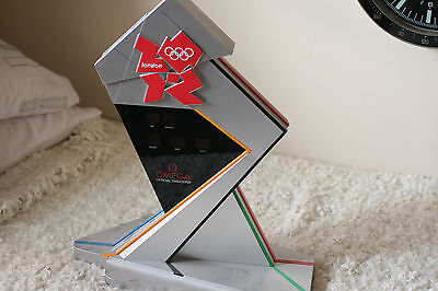 Omega Olympic Clock 2012 - Countdown to London Olympics Still Working with plug