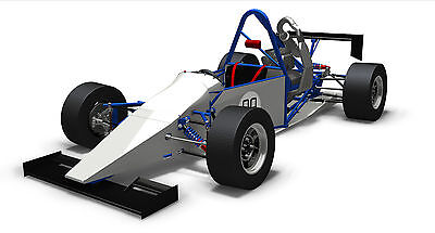Single Seater Locost Race Car - Build Your Own - Design, Kit Plans & Drawings