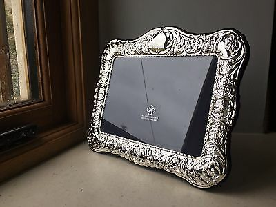 Carrs of Sheffield 925 Solid Silver photo picture frame, 5 x 7