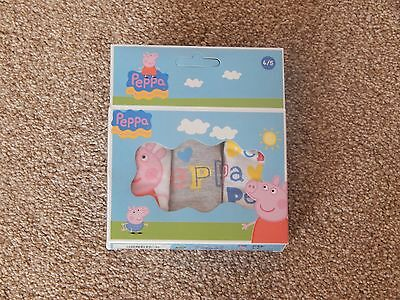 Girls Peppa Pig Briefs Knickers Pants  Age 2/3, 4/5, And 6/8