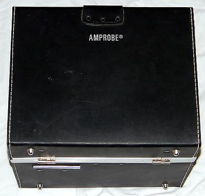 Amprobe Pav2X A.c. Voltage Recorder Voltmeter In Case With Leads & Paper