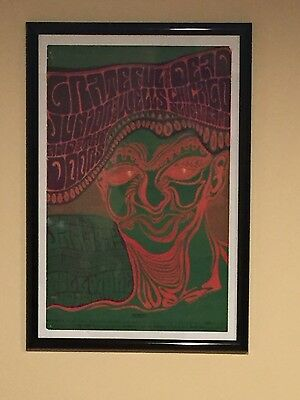 Grateful Dead and The Doors poster Bill Graham/ Fillmore January 13, 1967
