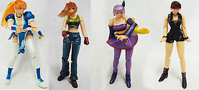 Dead or Alive KAIYODO KT Figure Collection set of 4 KASUMI AYANE HITOMI LEIFANG