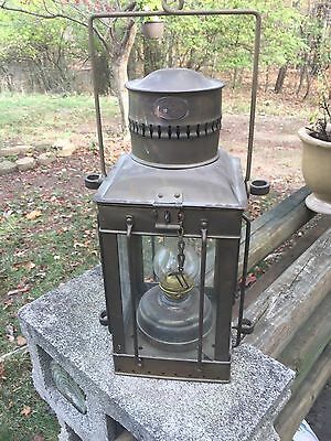 Unique Oil Barn Lamp.