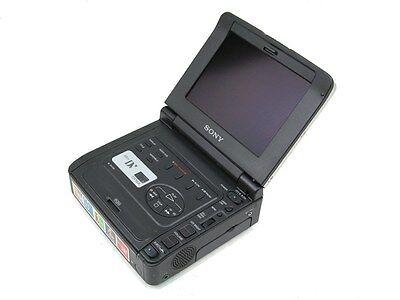 "Nice Sony GV-D900 Video Walkman MiniDV Player Recorder Editor 5.5"" LCD Display"