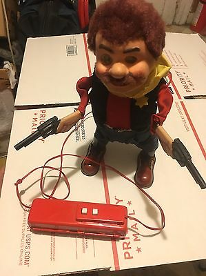 Vintage 1950s BATTERY OPERATED CRAGSTAN SHERIFF