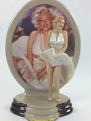 Set/6, NEW Marilyn Monroe The Fashion of Plate/Figurines, Creating a Sensation