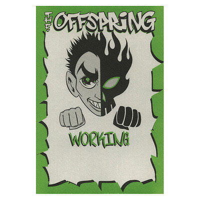 The Offspring Green Working 2000-2001 Backstage Pass