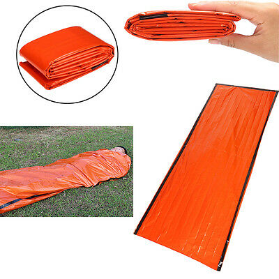 Outdoor Foil Thermal Space First Aid Emergency Survival Sleeping Bag Blanket New