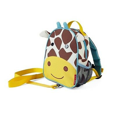 Skip Hop Zoo-Let Mini Backpack with Rein - Giraffe - Kids Safety Harness Travel