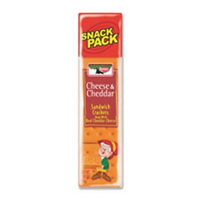Keebler Co. KEB21147 Cheese-Cheddar Crackers, Snack Pack, 1.8 Oz., 12-BX