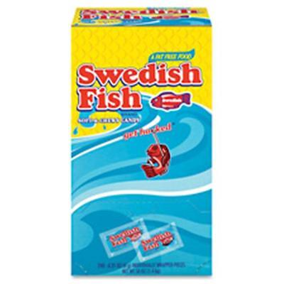 Cadbury Adams Swedish Fish Candy,Individually Wrapped,46.5 oz.,240-BX,RD