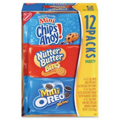 Nabisco Food Group NFG02024 Bite-Size Cookie Variety Pack, 48 Per Count