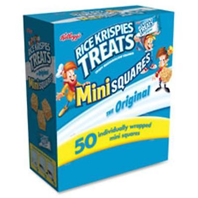 Keebler KEB12346 Rice Krispies Treats Original Mini Squares, 50 Per Box