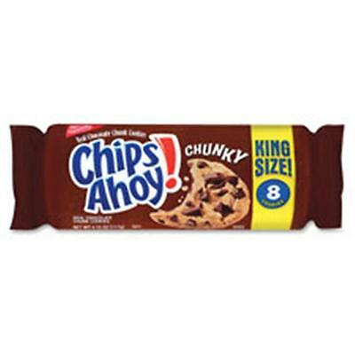 Nabisco Food Group NFG02954 Chips Ahoy Chunky Cookies King Size, 8 Per Box