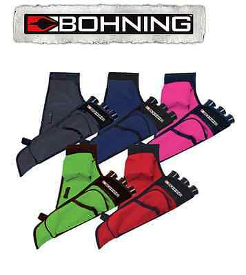 Bohning Kids Right hand side Hip quiver for archery (Black only)