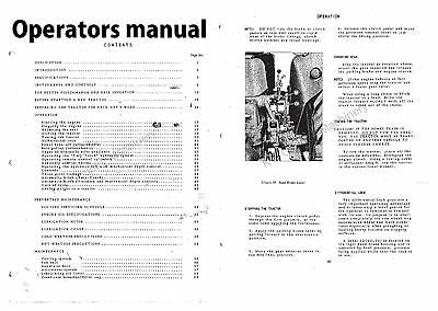 International Harvester 434 Manual