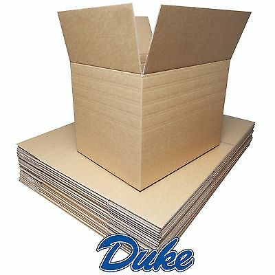 15 NEW EXTRA LARGE DOUBLE WALL Cardboard Moving Boxes - Removal Packing Storage