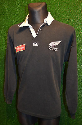 rare canterbury new zealand all blacks rugby shirt jersey. Black Bedroom Furniture Sets. Home Design Ideas
