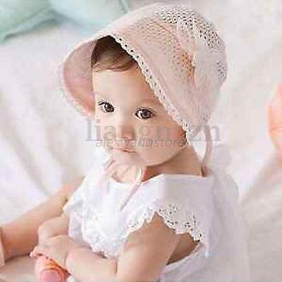 Newborn Baby Girls Princess Hats Cap Cotton Palace Hat Cute Summer Sun Hats