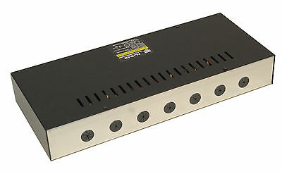 NJD DPX12/4 Wall Mount 12 Way DMX DJ Performance Club Stage Lighting Dimmer Pack