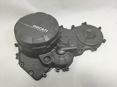 Ducati 899 Panigale OEM Silver Engine Motor Clutch Housing Side Case Cover
