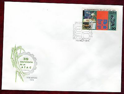CARIBBEAN STAMPS- 39th Sugar Technicians Conference , FDC 1970