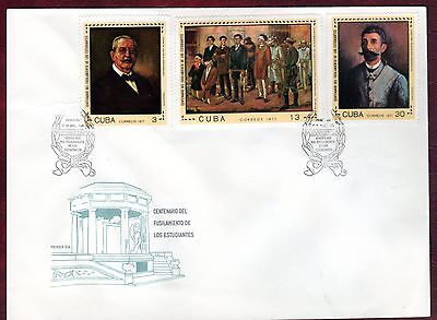 CARIBBEAN STAMPS- Centenary of Medical Students Movement , FDC 1971