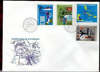 CARIBBEAN STAMPS- World Meteorological Day  ,FDC 1971